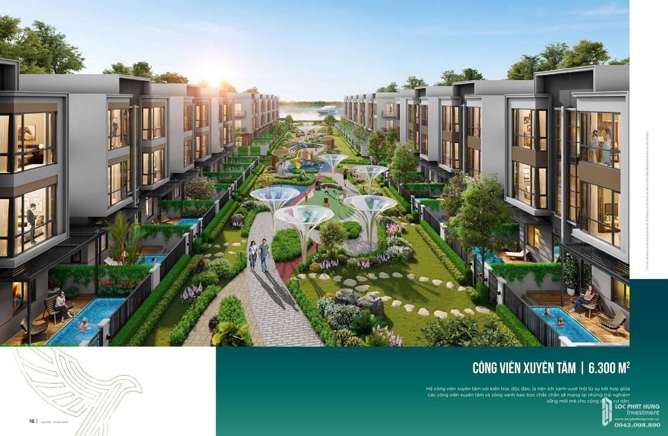 Tiện ích dự án nhà phố Aqua City The Phoenix South Biên Hòa Đồng Nai nhà phát triển NovaLand