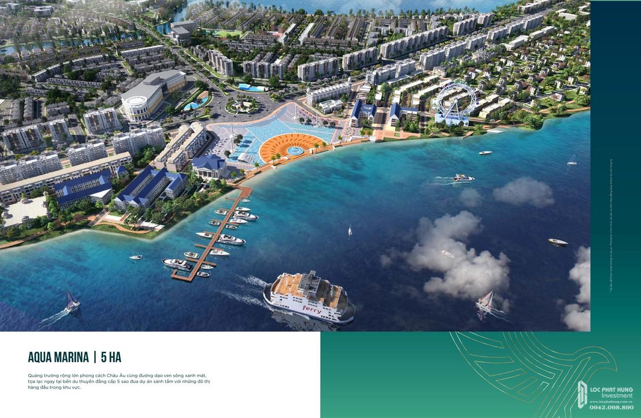 Aqua Marina rộng 5 ha mang phong cách Châu Âu tạo lạc ngay bến du thuyền đẳng cấp 5 sao