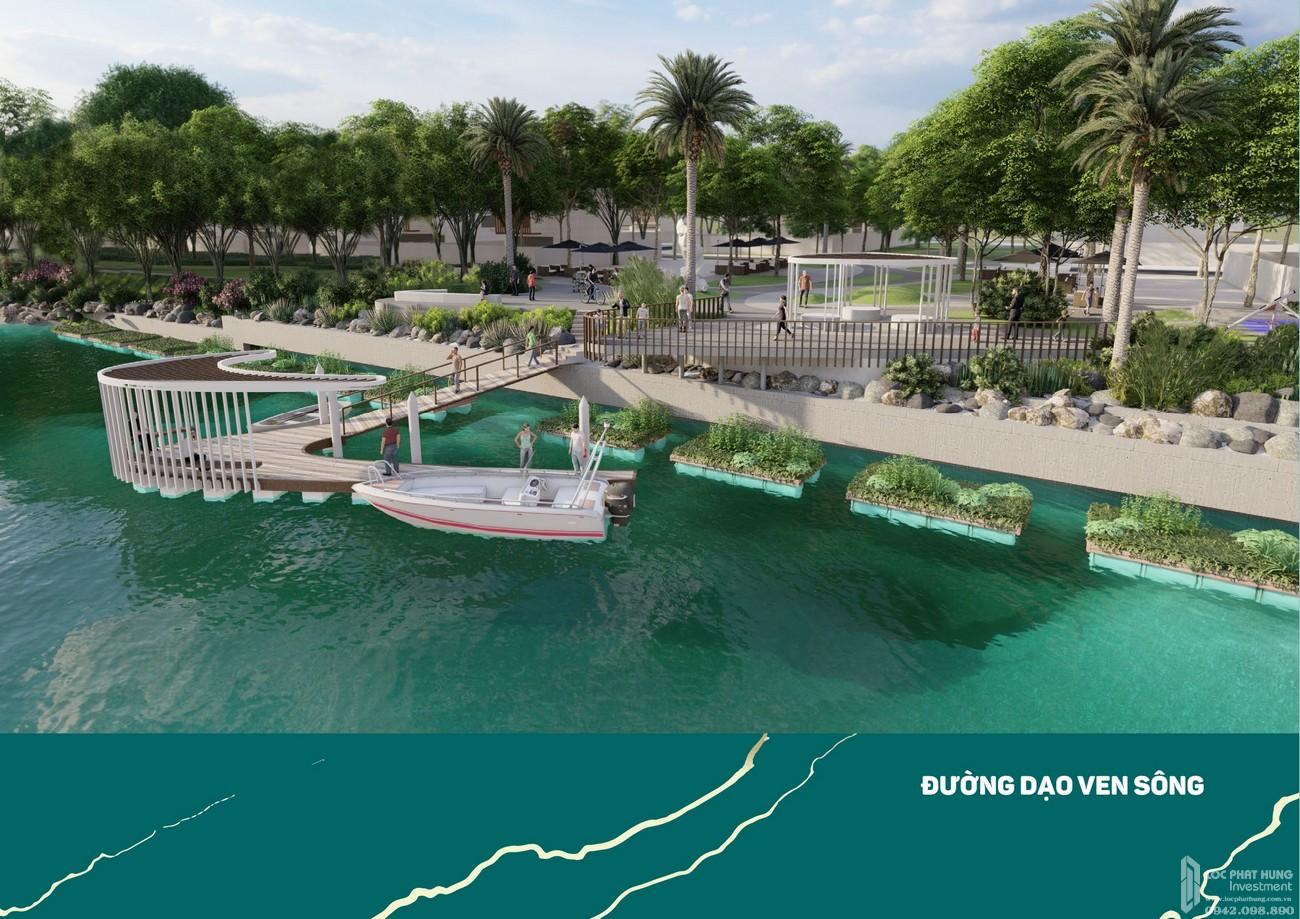 Đường dạo ven sông - Aqua City The Stella