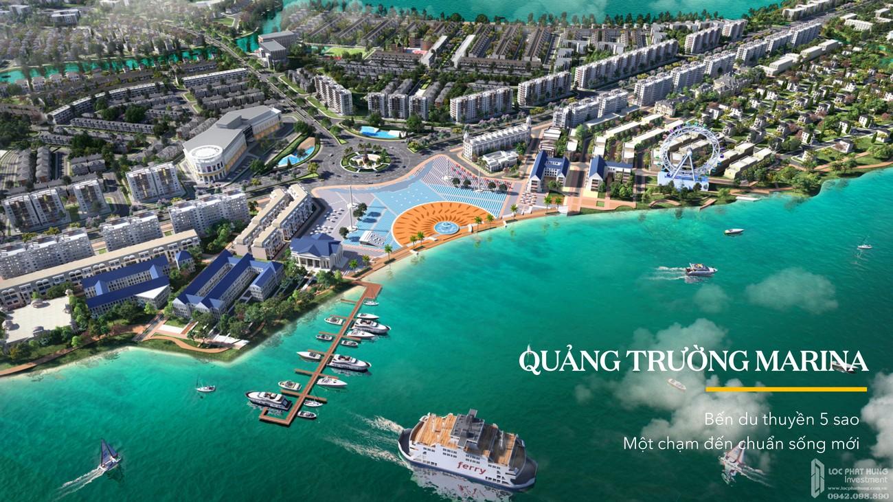 Quảng trường Marina dự án Aqua City Valencia Biên Hòa Đường Quốc lộ 51 nhà phát triển Novaland