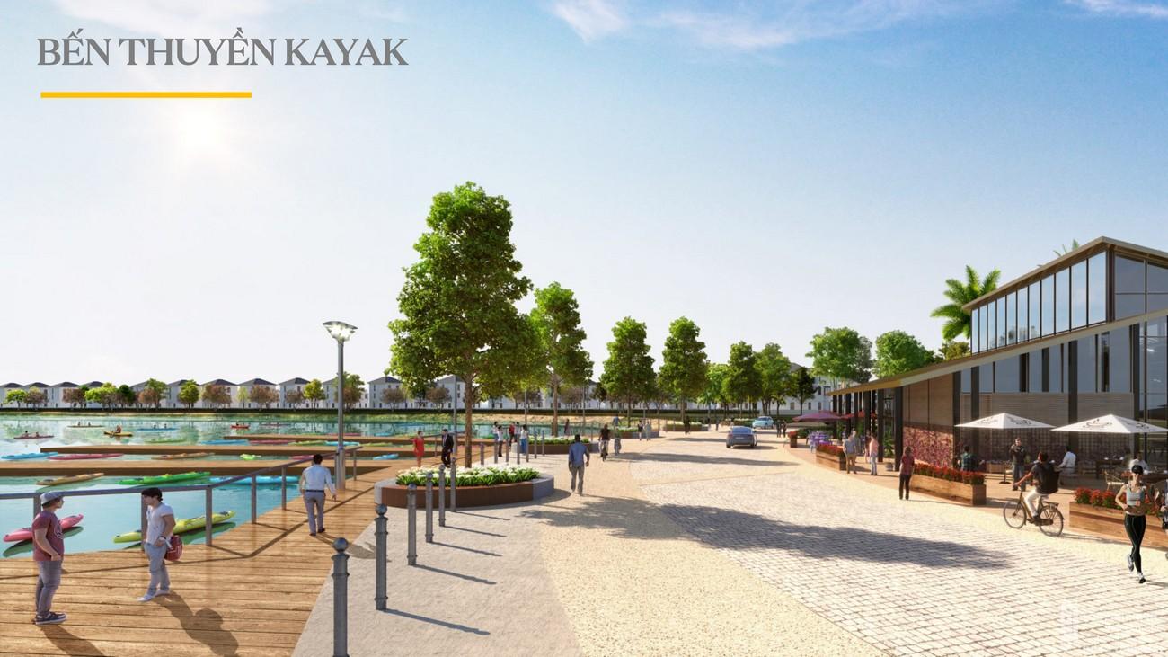 Bến thuyền Kayak - Aqua City The Stella