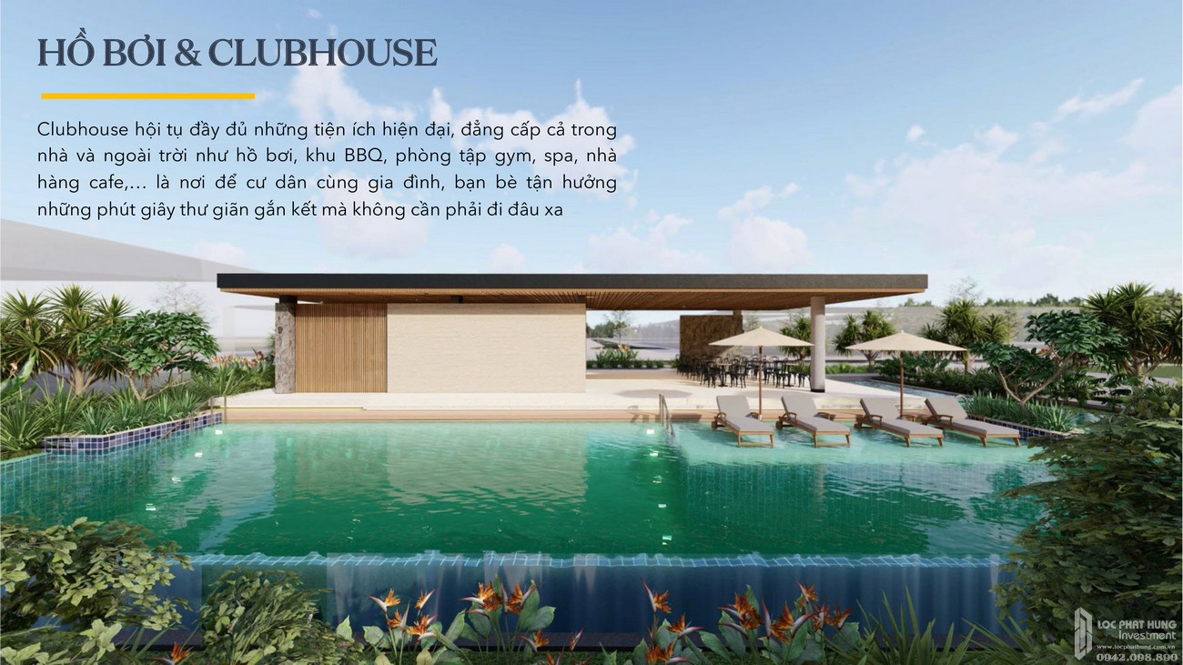 Hồ bơi & Clubhouse - Aqua City The Stella