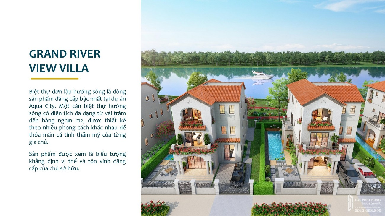 Nhà mẫu dự án Aqua City The Phoenix South
