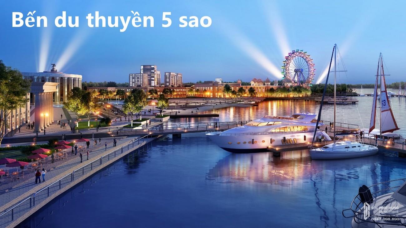 Bến du thuyền 5 sao của dự án Aqua City The River Park 2 Đồng Nai Đường Quốc lộ 51 nhà phát triển Novaland
