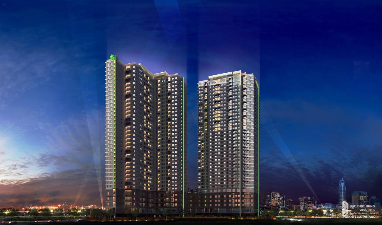 Phối cảnh về đêm tuyệt đẹp của dự án Sunrise City View chủ đầu tư Novaland
