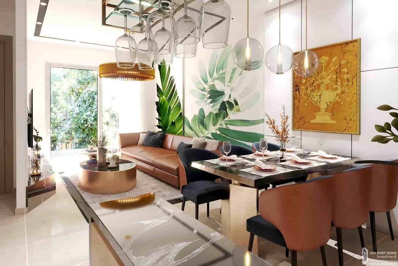 Nhà mẫu căn hộ Bella Plaza đường Võ Thị Sáu Biên Hòa chủ đầu tư công ty Lộc An
