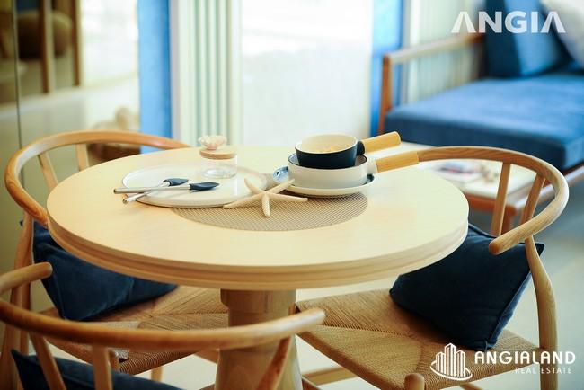 Phòng khách bàn ăn - Nhà mẫu 53m2 The Sóng Vũng Tàu