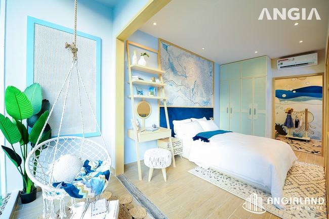 Phòng ngủ view 2 - Nhà mẫu 53m2 The Sóng Vũng Tàu