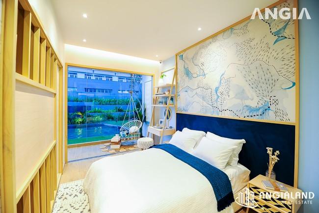 Phòng ngủ view 3 - Nhà mẫu 53m2 The Sóng Vũng Tàu
