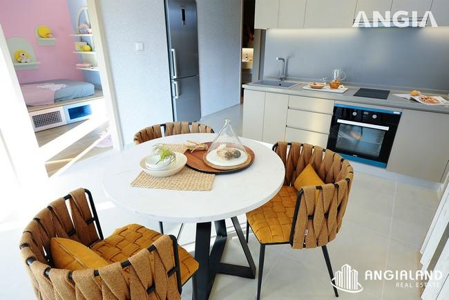 Phòng bếp view 3 - Nhà mẫu 72m2 The Sóng Vũng Tàu