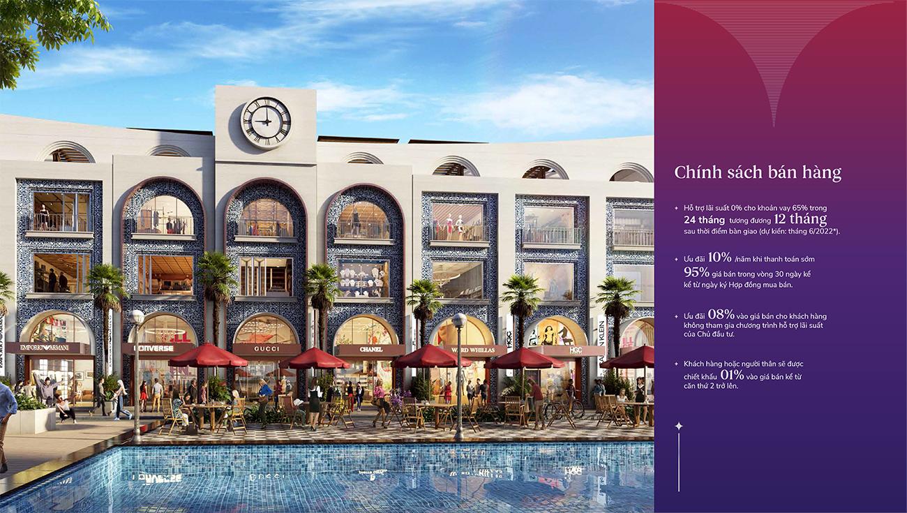 Ưu đãi & Chính sách bán hàng dự án Vega City Nha Trang