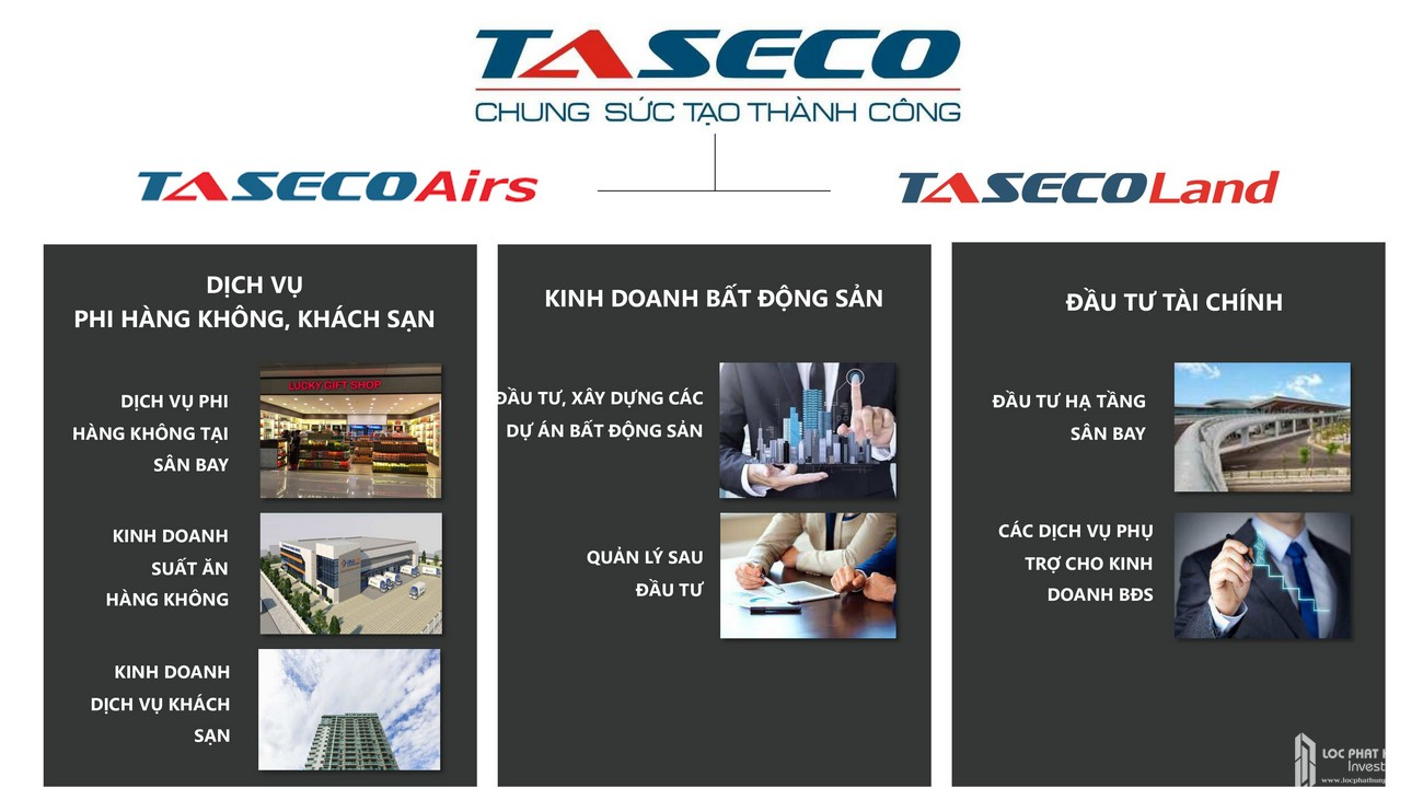 Chủ đầu tư dự án Condotel À La Carte Halong Bay Hạ Long Đường Mặt Vịnh Hạ Long chủ đầu tư TASECO Land