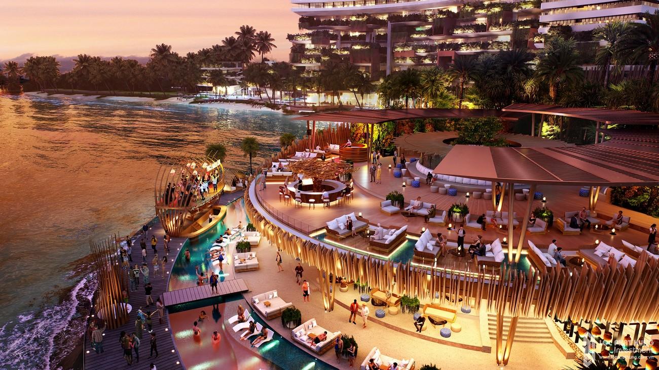 Vega City bãi Tiên TP Nha Trang không ngủ về đêm với các hoạt động giải trí 24/24