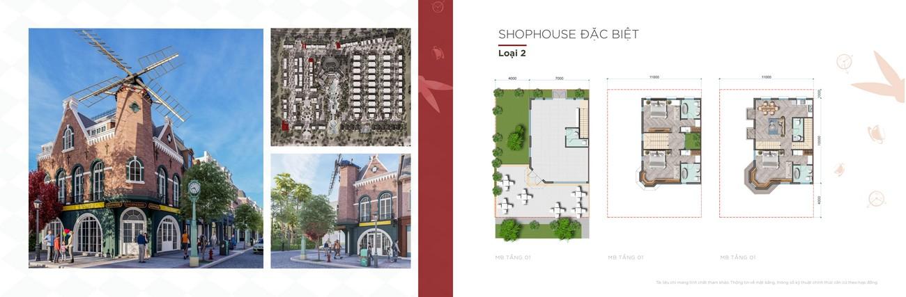 Thiết kế của khu Shophouse dự án Habana Novaland Hồ Tràm