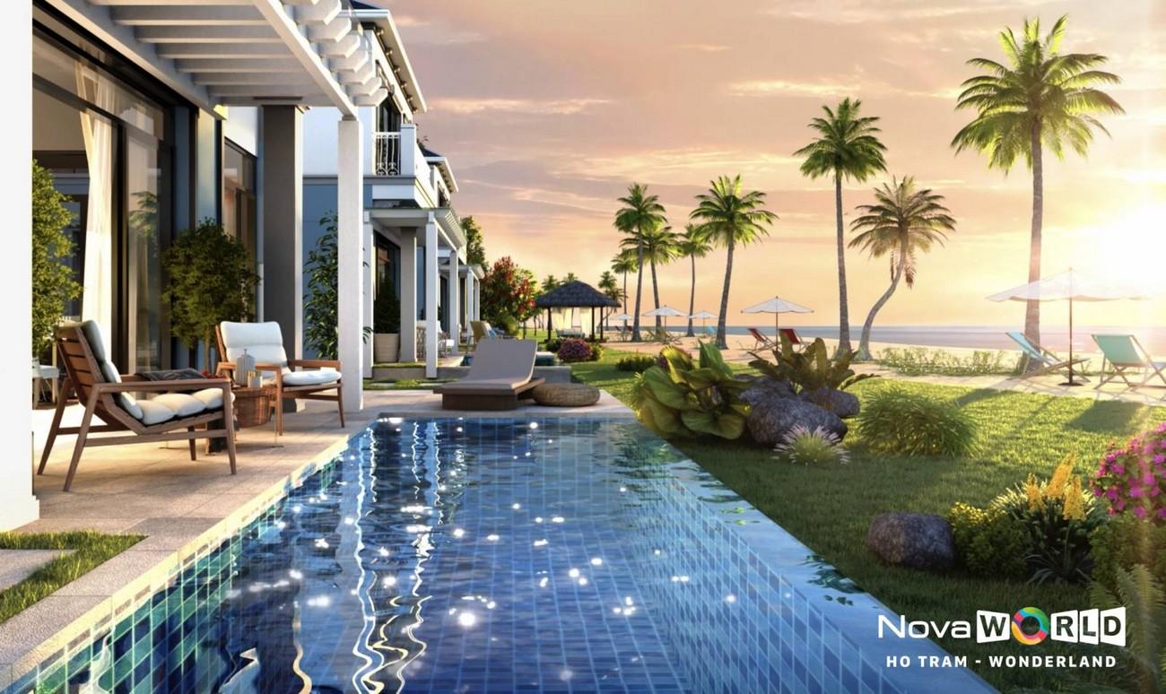 Tiện ích dự án nhà phố Novaworld Hồ Tràm Wonderland Xuyên Mộc Đường Phước Thuận chủ đầu tư Novaland