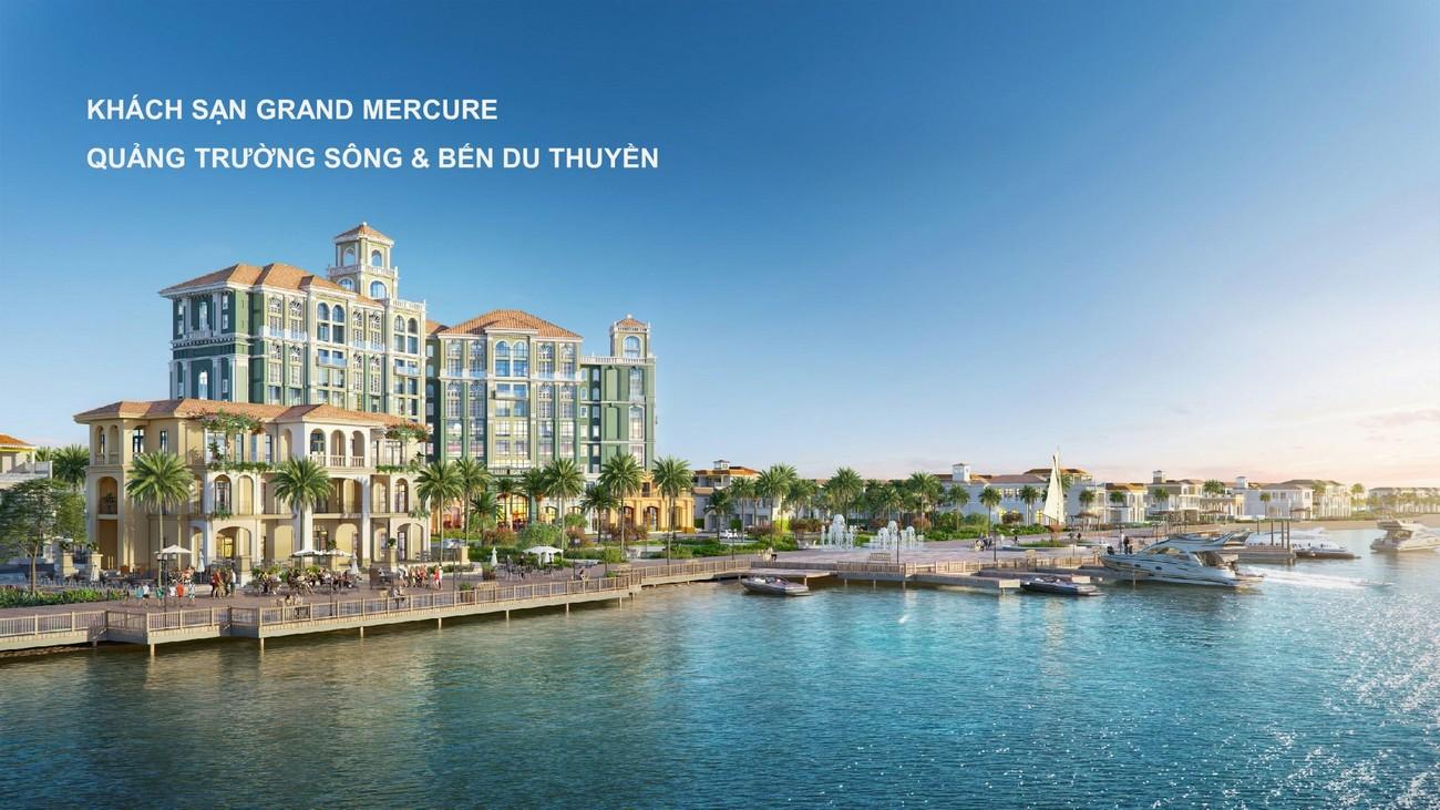 Khách sạn Grand Mecure ự án Habana Island Novaworld Hồ Tràm