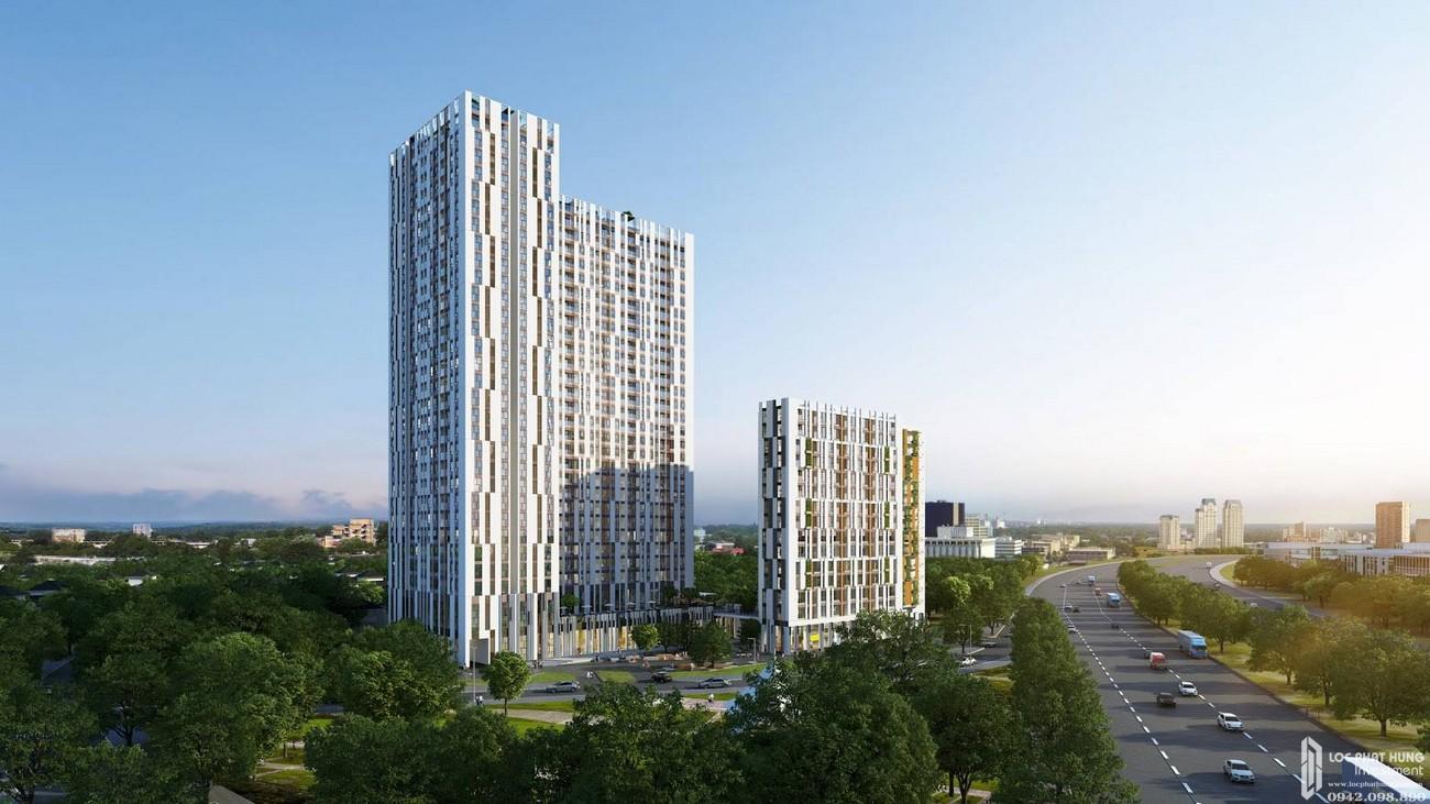 Phối cảnh dự án căn hộ chung cư Centana Thủ Thiêm Quận 2 Đường Mai Chí Thọ chủ đầu tư Điền Phúc Thành