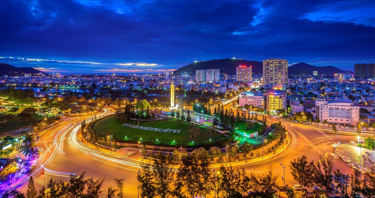 Thành phố Vũng Tàu về đêm