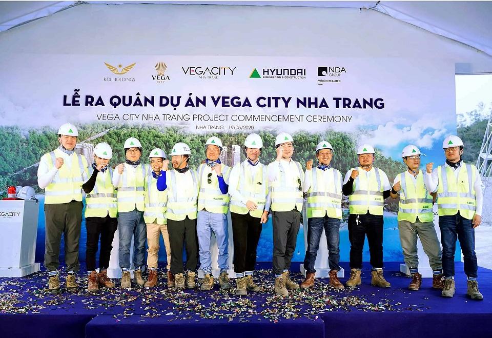 Lễ khởi công dự án đô thị nghĩ dưỡng Vega City Nha Trang