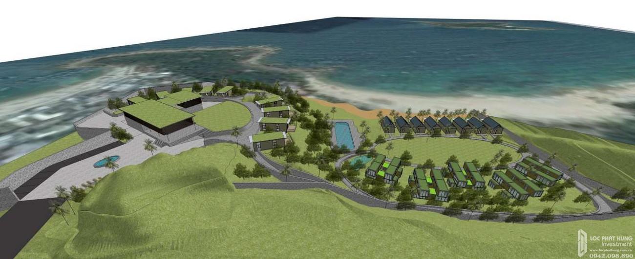 Mặt bằng dự án Biệt Thự Biển chung cư Casa Marina Mũi Né Đường chủ đầu tư BCG