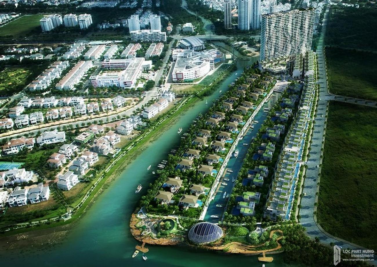 Hệ thống kênh đào bên trong dự án TNR Viva Panorama Quận 7