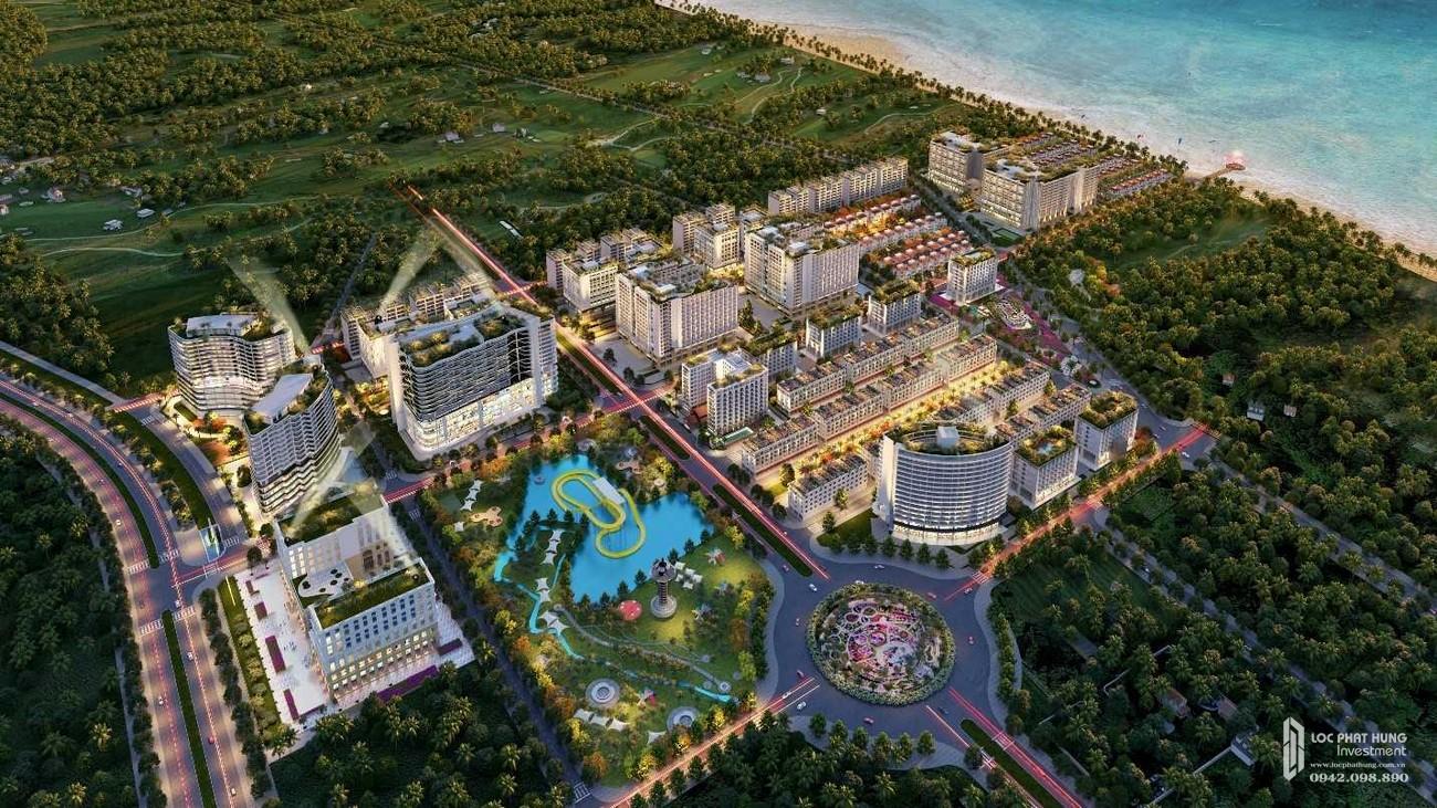 Dự án căn hộ condotel Sim Island Phú Quốc Đường Bãi Trường chủ đầu tư Hoàng Hải Phú Quốc