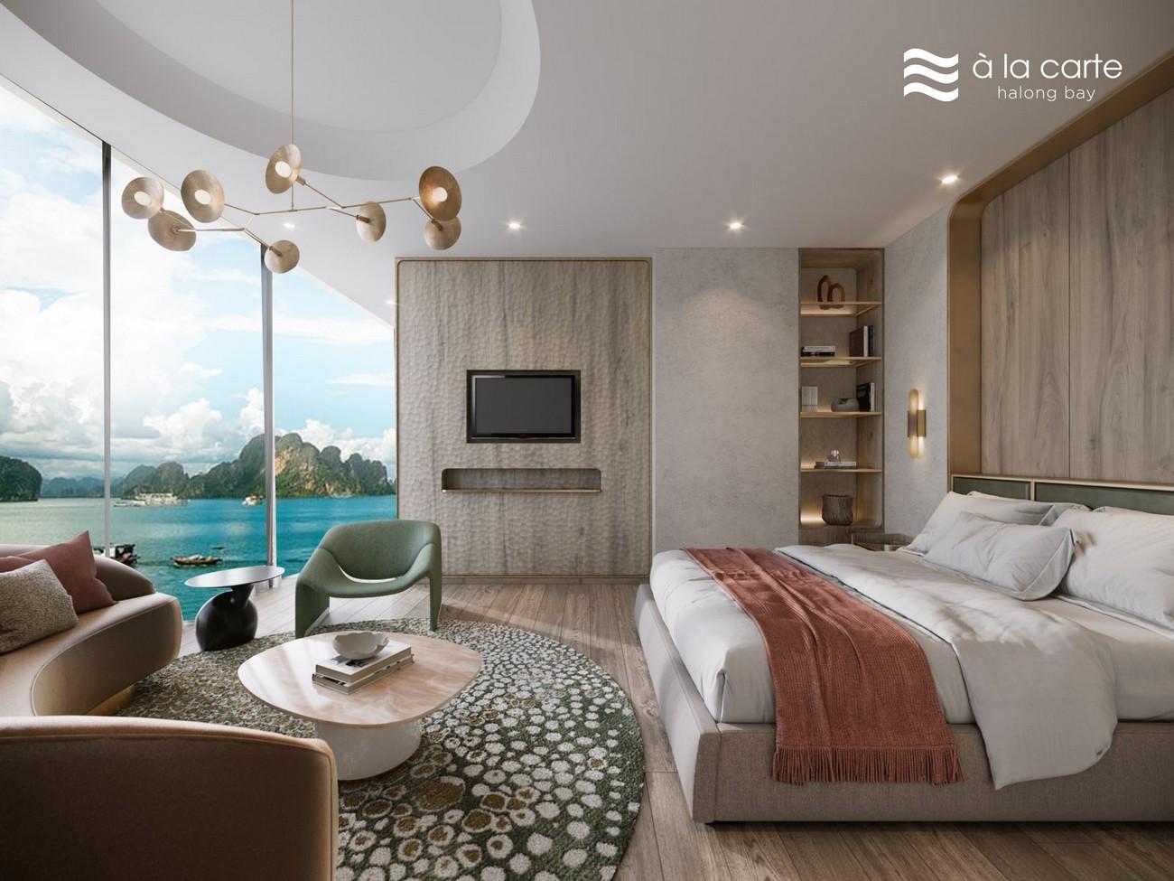 Nhà mẫu Penthousel À La Carte Halong Bay Hạ Long Đường Mặt Vịnh Hạ Long chủ đầu tư TASECO Land