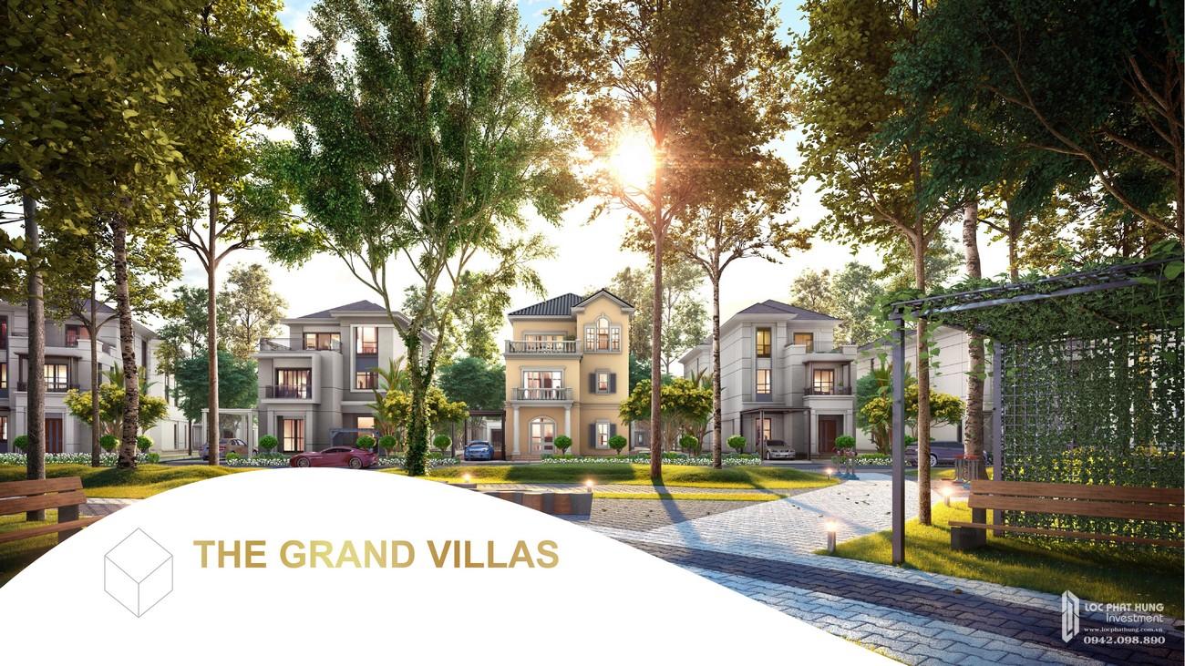 Nhà mẫu dự án biệt thự Aqua City The Grand Villas Biên Hòa Đường Long Hưng nhà phát triển Novaland
