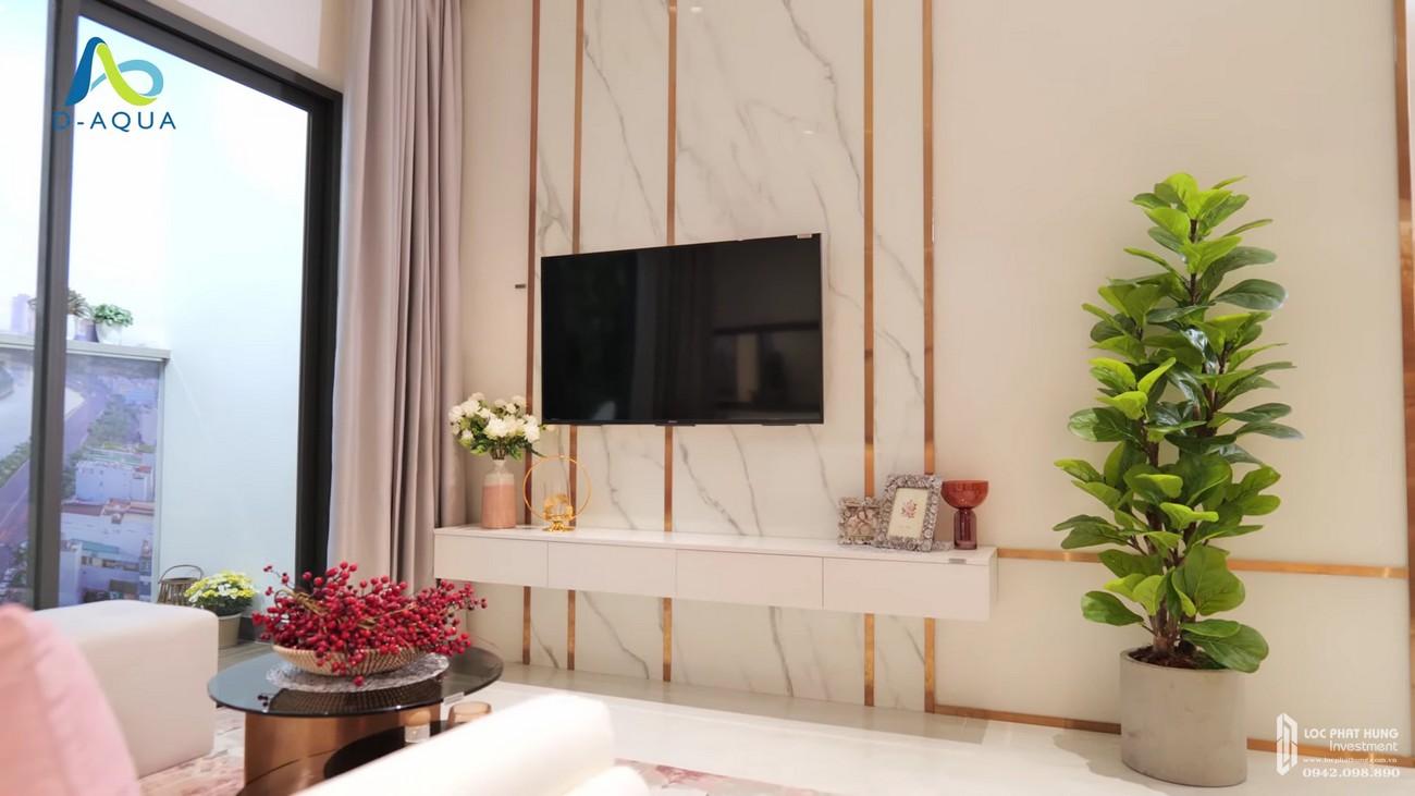 Nhà mẫu dự án căn hộ chung cư D Aqua Quận 8 chủ đầu tư DHA Corp