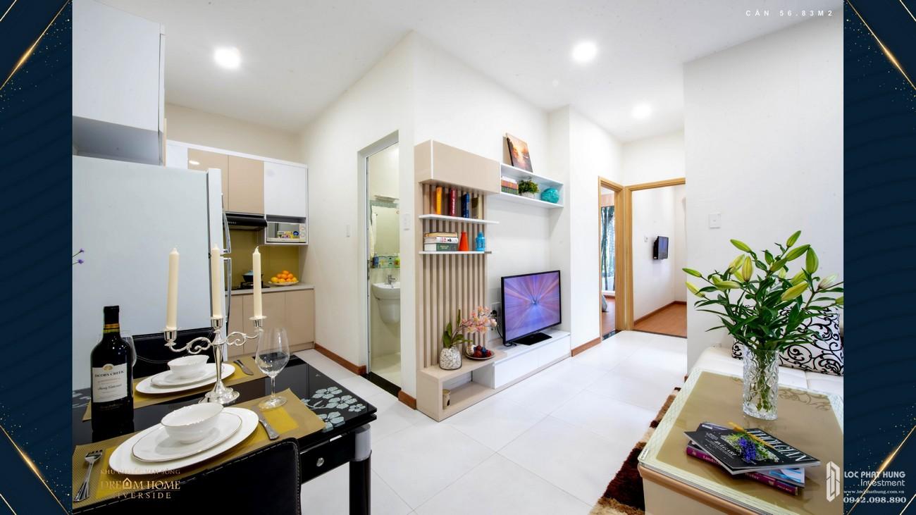 Nhà mẫu Dream Home Riverside: Căn hộ 56m2 – 0942.098.890