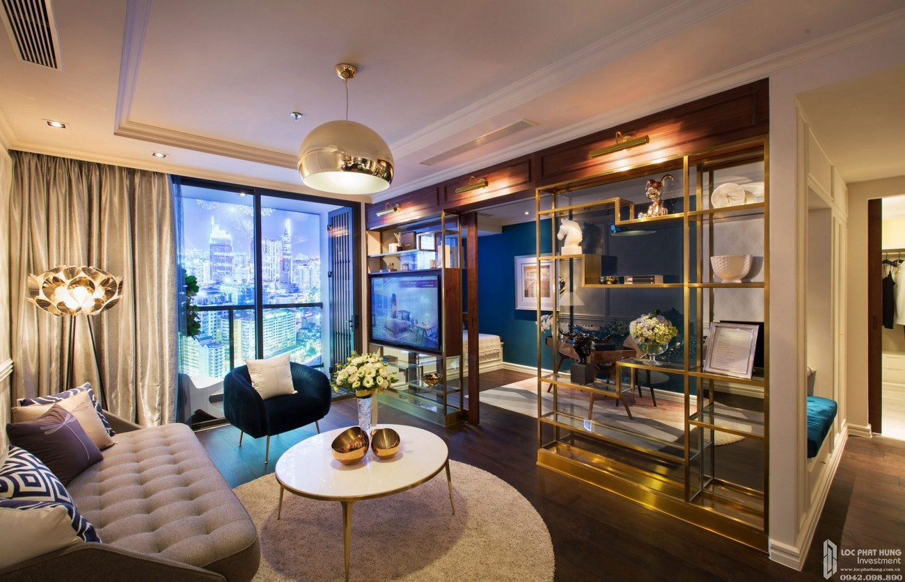 Nhà mẫu dự án căn hộ chung cư The Grand Manhattan Quận 1 Đường 100 Cô Giang  chủ đầu tư Novaland