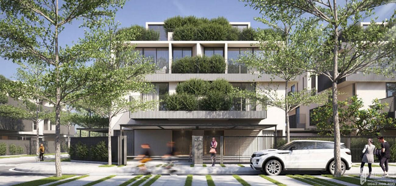 Nhà mẫu dự án nhà phố Amor Residence Villa Bình Chánh Đường  chủ đầu tư BCG Land