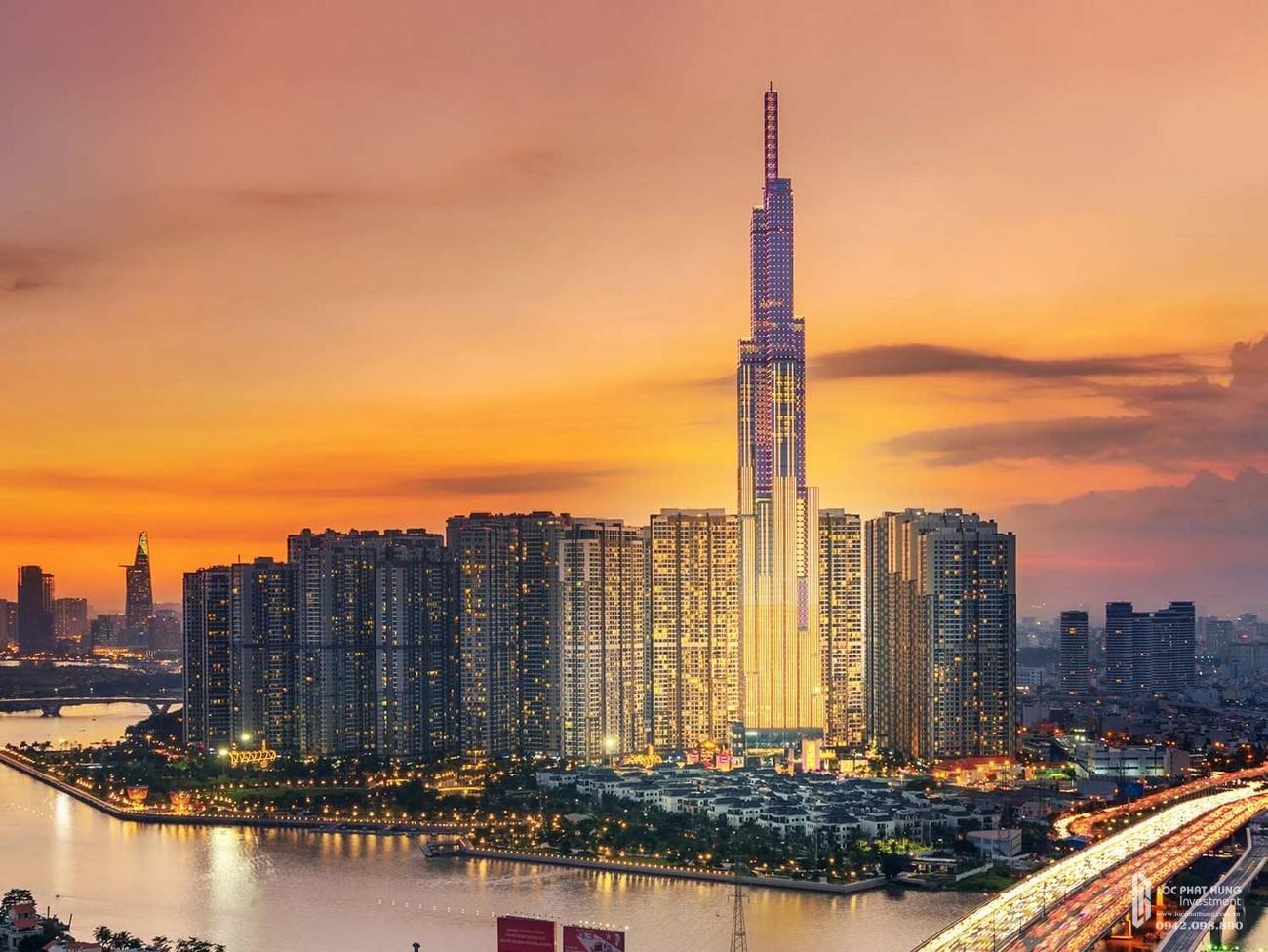 Tòa tháp cao nhất Việt Nam Landmark 81