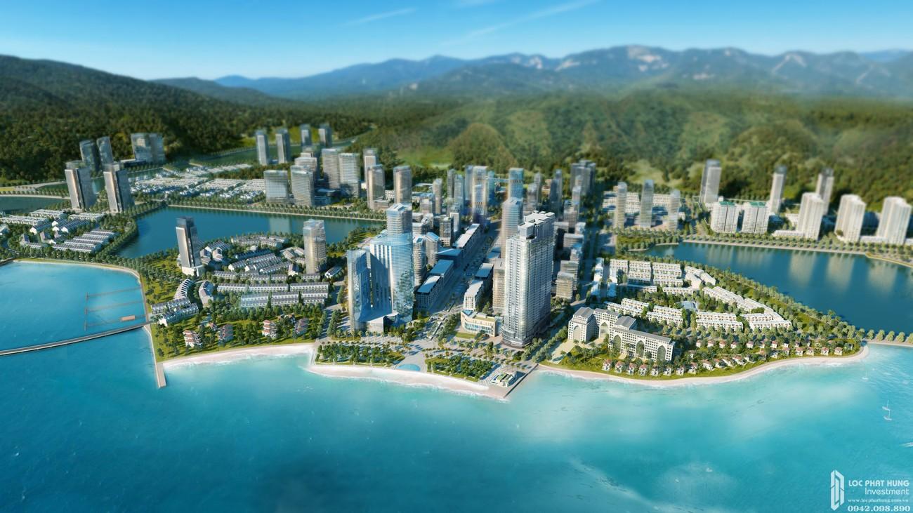 Phối cạnh dự án Condotel À La Carte Halong Bay Hạ Long Đường Mặt Vịnh Hạ Long chủ đầu tư TASECO Land