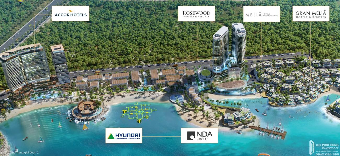 Phối cảnh tổng thể dự án Biệt thự, nhà phố Vega City Bãi Tiên Nha Trang chủ đầu tư KDI Holdings