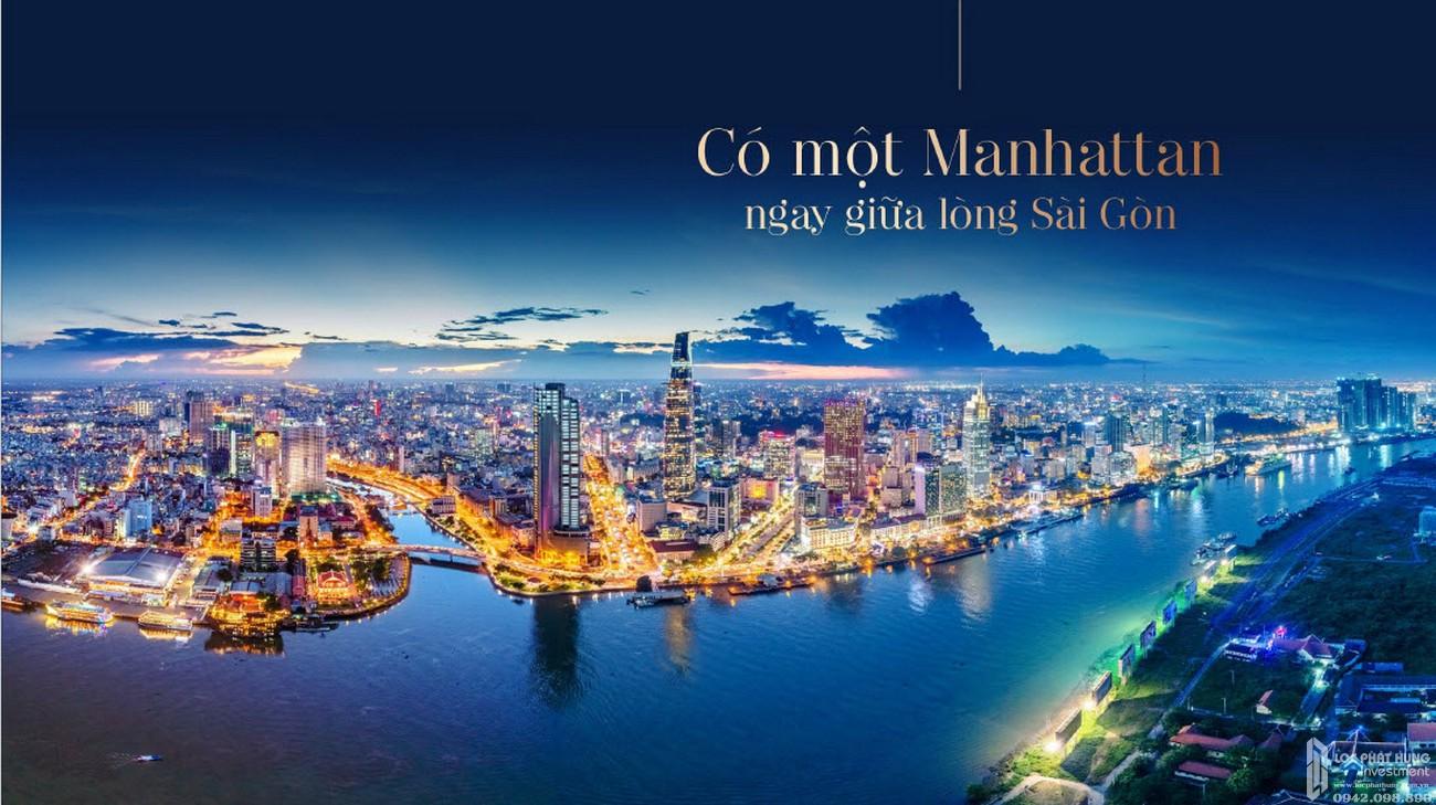 Phối cảnh tổng thể dự án căn hộ chung cư The Grand Manhattan Quận 1 Đường 100 Cô Giang  chủ đầu tư Novaland