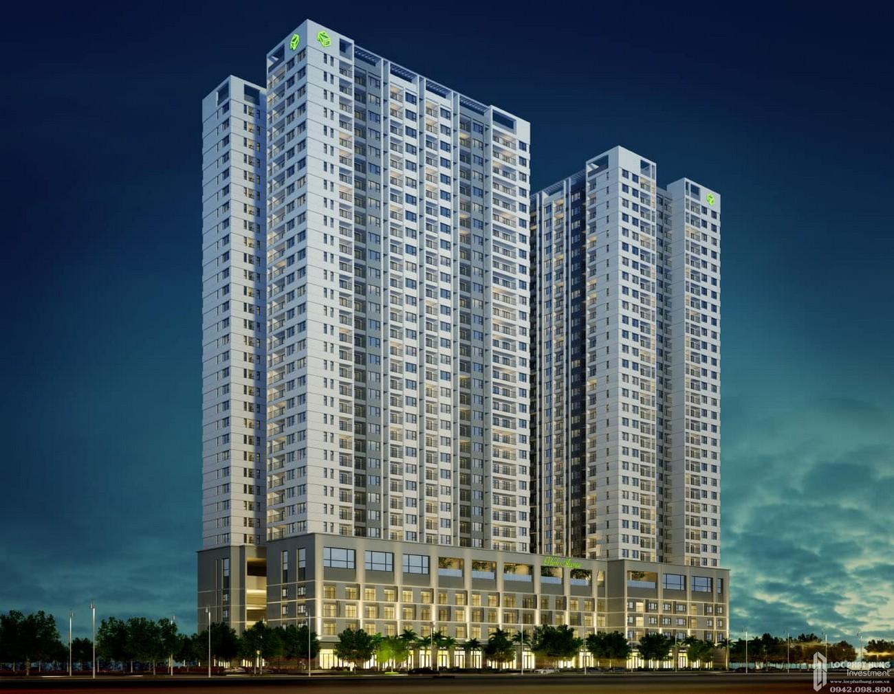 Phối cảnh tổng thể dự án căn hộ chung cư The Park Avenue Quận 11 Đường Lê Đại Hành chủ đầu tư Novaland