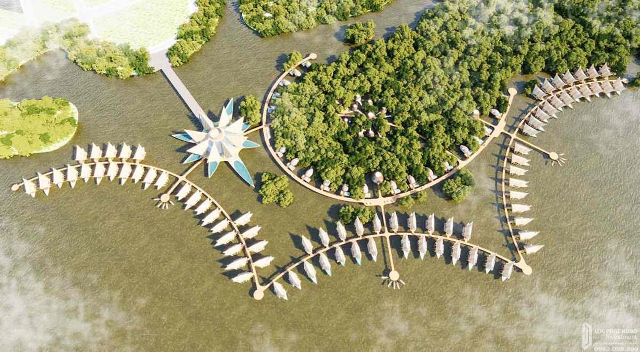 Phối cảnh dự án Eco Villas Cồn Khương Cần Thơ