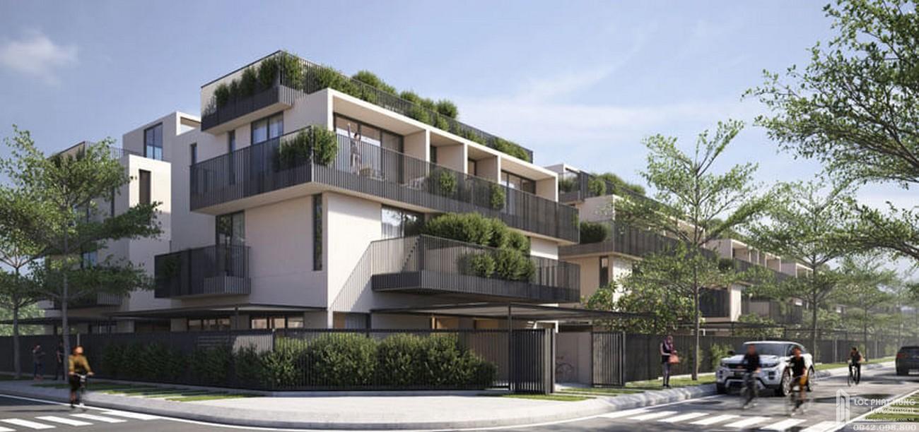 Phối cảnh tổng thể dự án nhà phố Amor Residence Villa Bình Chánh Đường  chủ đầu tư BCG Land
