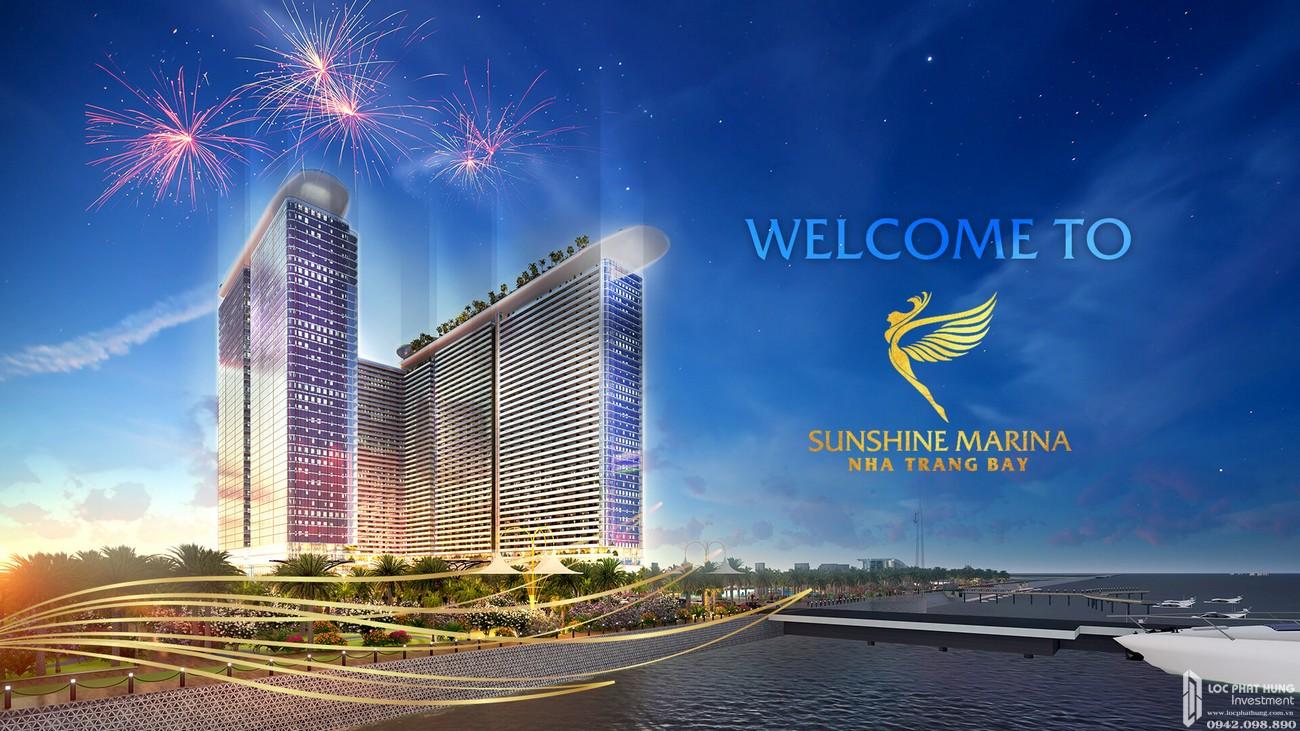 Phối cảnh dự án Condosuites Sunshine Marina Đường Trần Phú chủ đầu tư Sunshine Group mặt tiền Trần Phú