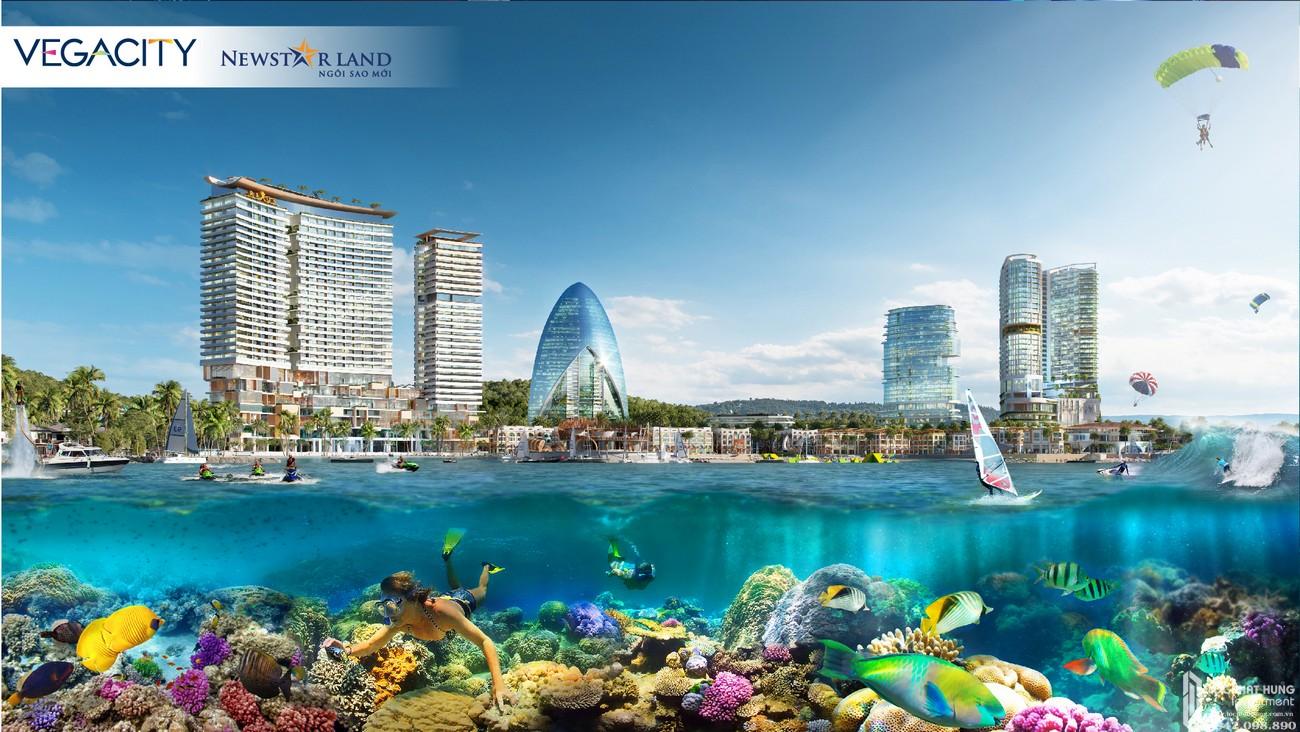Phối cảnh tổng thể dự án Vega City Nha Trang