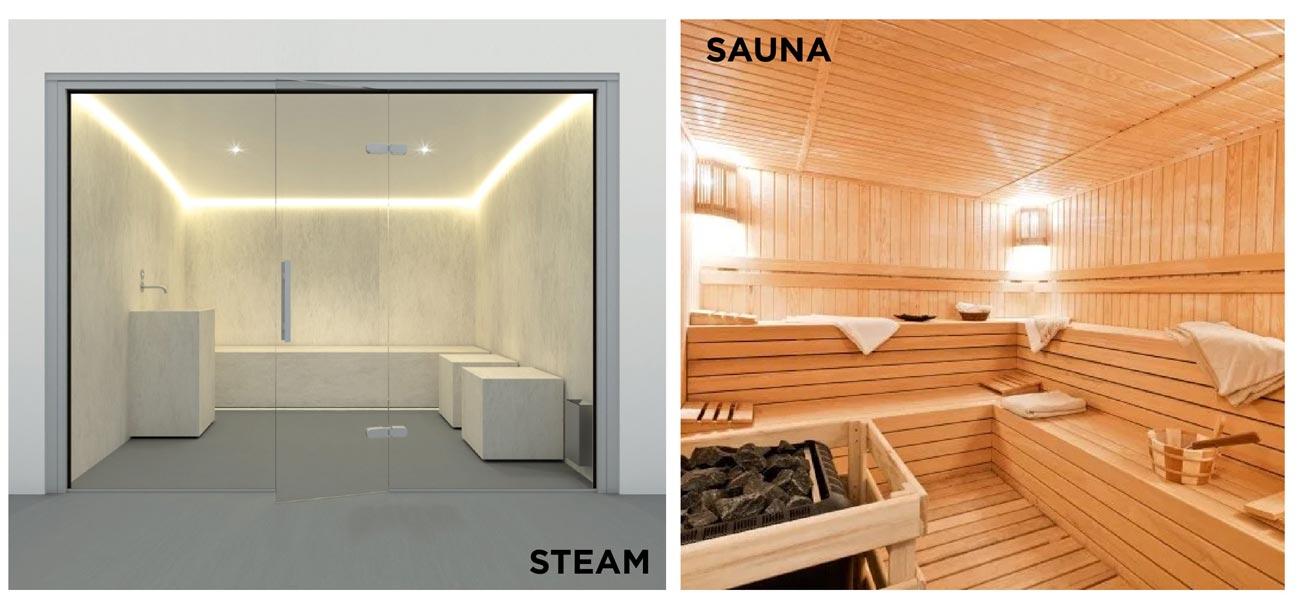 Phòng xông hơi Sauna khô và Sauna ướt Charm Diamond TP Dĩ An