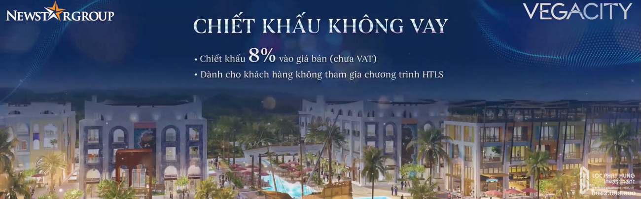 Phương thức thanh toán dự án Vega City Bãi Tiên Nha Trang chủ đầu tư KDI Holdings