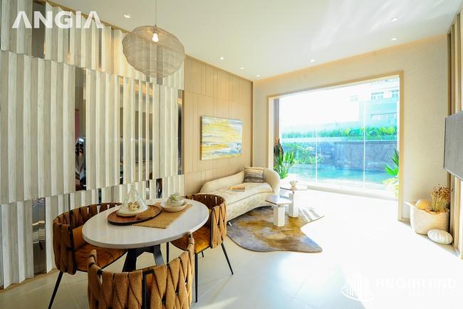 Phòng khách view 3 - Nhà mẫu 72m2 The Sóng Vũng Tàu