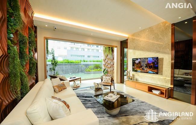 Phòng khách view 2 - Nhà mẫu 122m2 The Sóng Vũng Tàu