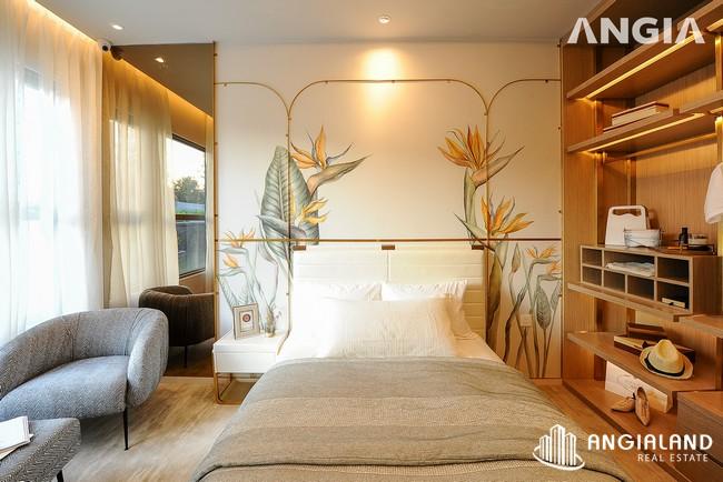 Phòng ngủ view 1 - Nhà mẫu 72m2 The Sóng Vũng Tàu