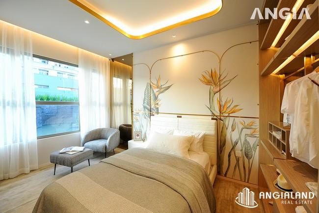 Phòng ngủ view 2 - Nhà mẫu 72m2 The Sóng Vũng Tàu