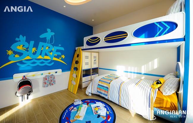 Phòng khách ngủ 1 - Nhà mẫu 122m2 The Sóng Vũng Tàu