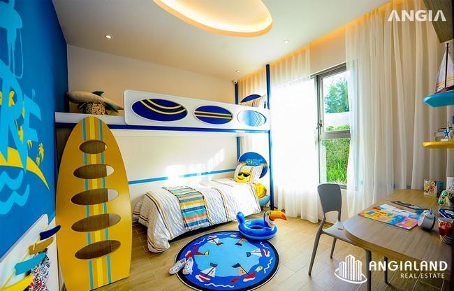 Phòng khách ngủ 2 - Nhà mẫu 122m2 The Sóng Vũng Tàu