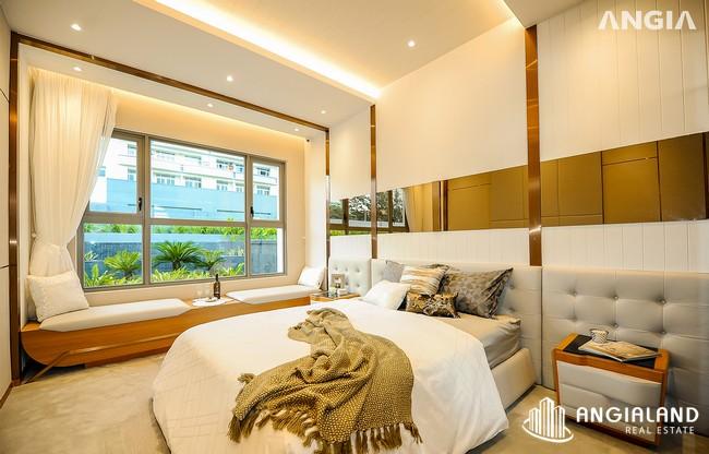 Phòng khách ngủ view - Nhà mẫu 122m2 The Sóng Vũng Tàu